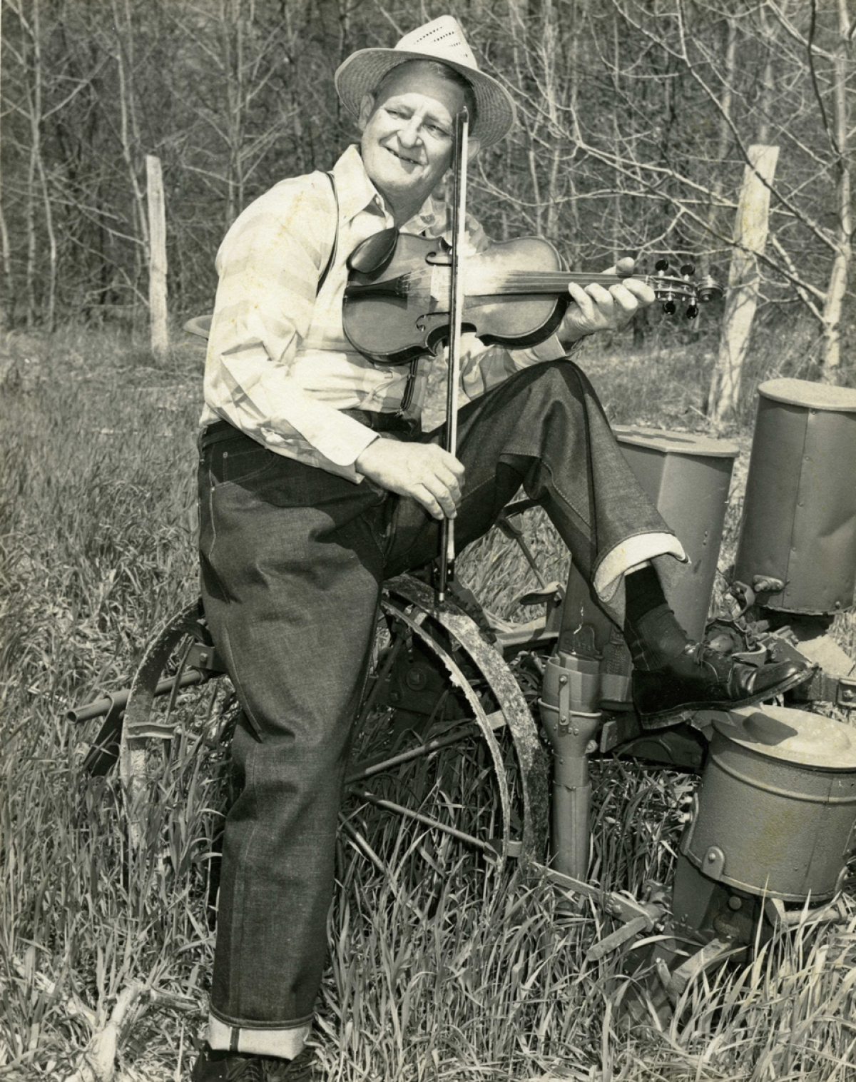 "Born near Weaverville, North Carolina in 1898, Joseph Emmett Mainer learned to play the banjo when he was about nine years old.  In 1923 J. E.'s brother Wade joined him in Concord and the two of them began playing around for dances and shows.  They went to work for the Crazy Water Crystal Company broadcasting over WBT in Charlotte as J. E. Mainer's Crazy Mountaineers.  The group soon played at many other radio stations.  RCA Victor decided to record the group in 1935 for their Bluebird label.  J. E. got Snuffy Jenkins in 1937 to play banjo for him.  Some of the Mainer recordings with Snuffy Jenkins' three-finger picking sound tantalizingly close to what would later be called bluegrass.  His recordings in 1946 resulted in several singles and two albums.  An enduring original from these sessions was ""Run Mountain"". In 1962, Chris Strachwitz of the Arhoolie label visited J. E. in Concord and subsequently cut a new album, ""The Legendary Family from the Blue Ridge Mountains"".   Beginning in 1967, J. E. cut a series of 20 albums for Uncle Jim O'Neal's Rural Rhythm label, guested on the WWVA Jamboree and played numerous festivals. Two re-issues on Strachwitz's Old Timey label of early material, along with J. E.'s album from 1946 and a pair of albums that J. E. put out helped keep his earlier material in print. J. E. Mainer stayed active in music until his death in 1971."