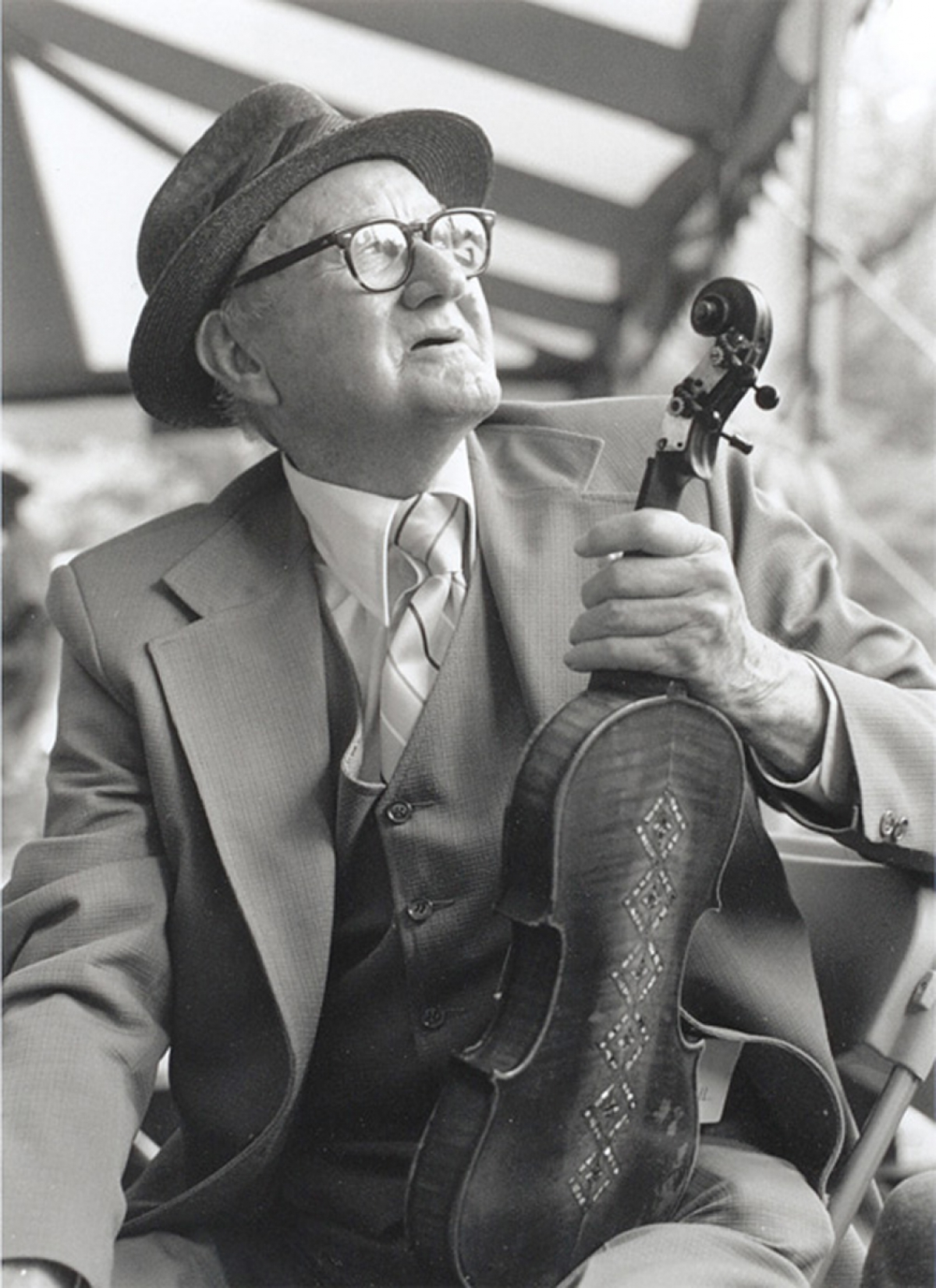 Thomas Jefferson Jarrell was born in Surry County, North Carolina. He is considered one of the most influential fiddle players of his time, sharing his talents and teaching style with interested musicians.  Jarrell's style was notable for its expressiveness and he was adept at singing while playing.  His formidable technique and voice continue to influence modern enthusiasts of the Appalachian old-time music through recordings today.