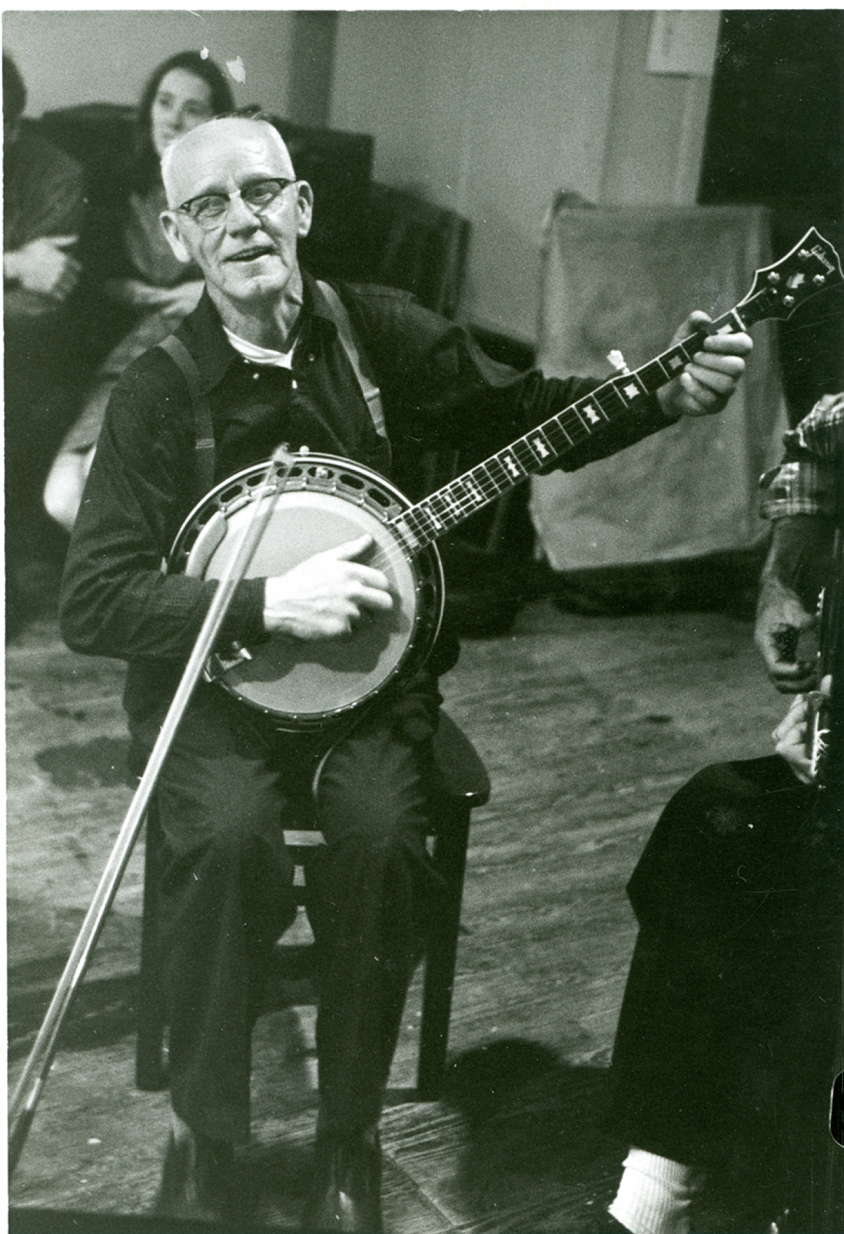 "Born in Bristol, TN in 1895, Clarence ""Tom"" Ashley was an American clawhammer banjo player, guitarist and singer whose musical career began at the early age of sixteen.  He met Doc Walsh and formed the Carolina Tar Heels who recorded many hit albums of the 1930s including his famous song ""The Coo-Coo Bird"".  He recorded two albums with Folkways Records and spent the last years of his life playing internationally at folk music concerts.  Ashley's appearances included venues such as Carnegie Hall in New York and the Newport Folk Festival in Rhode Island."